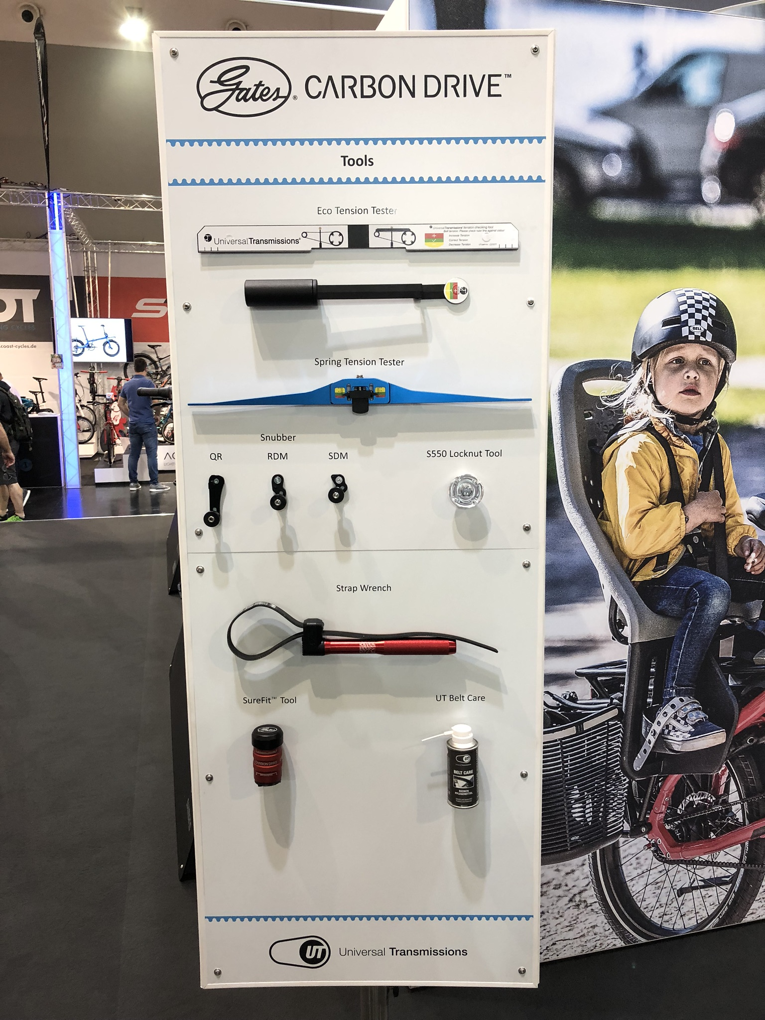 Eurobike booth-tools