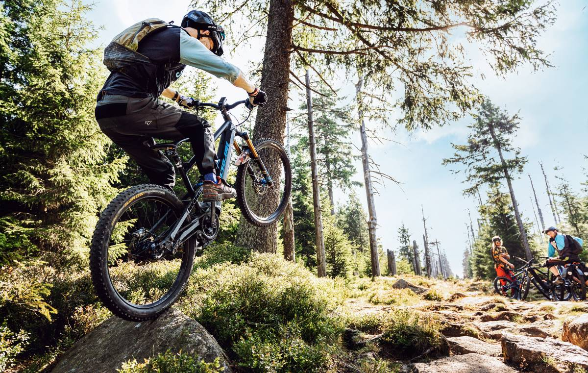 Boulders? No sweat.
